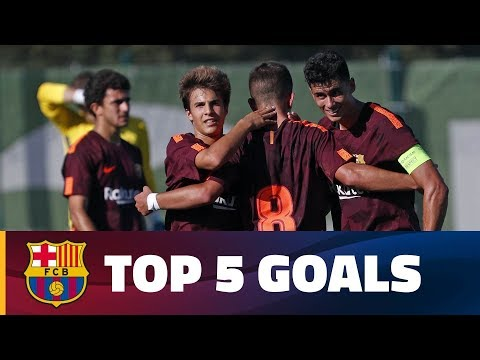 FCB Masia-Academy: Top goals 30 September -1 October