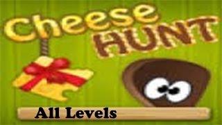 Cheese Hunt 2 Walkthrough, All Levels [HD]