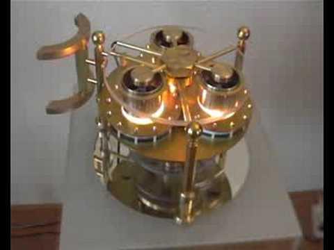 Flying Saucer Steampunk Triple Ltd Engine Youtube