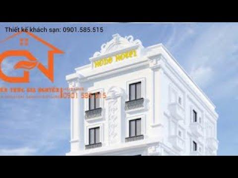 Thiết kế khách sạn - nhà nghỉ tại Thủy Nguyên - Hải Phòng - 0901585515
