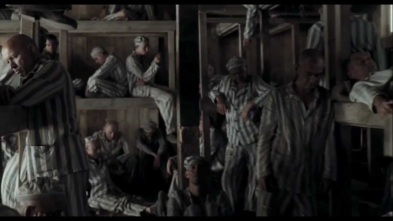 the boy in the striped pajamas gas chamber scene