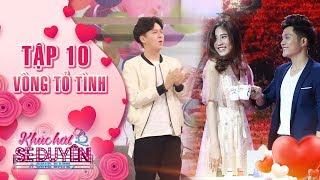 Khúc hát se duyên|tập 10 vòng tỏ tình: Ngô Kiến Huy hết sức hào hứng với màn tỏ tình của Anh Tuấn