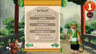 Kung Fu Panda World Character Creation & Tutorial