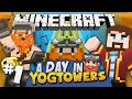 Minecraft - A Day At Yogtowers #1 - Making A Video