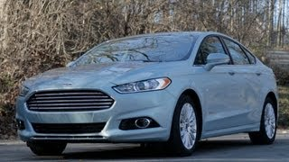 Car and Driver: Tested : 2013 Ford Fusion Hybrid - Review - CAR and DRIVER videos