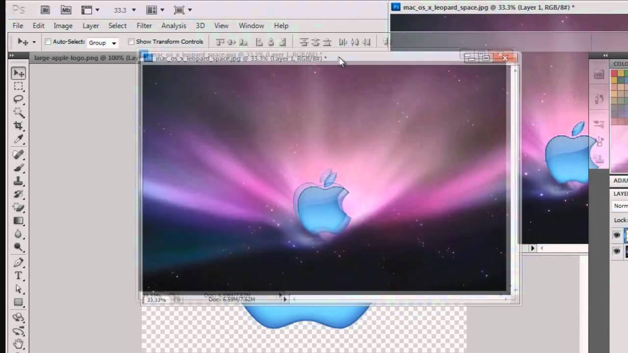 how to make transparent in photoshop