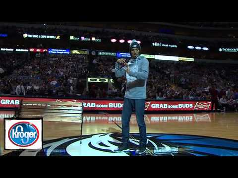 Marquese Scott Halftime NBA Show Dallas vs Portland Nov 5, 2012