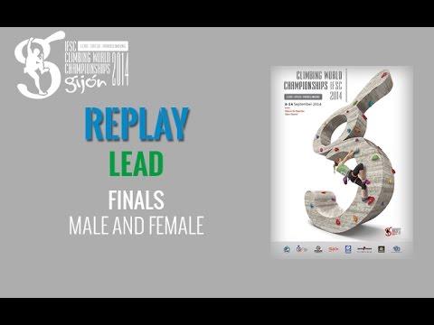 IFSC Campeonato del Mundo de dificultad 2014 en Gijón - Final