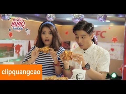 Quảng cáo KFC gà sốt BBQ Hàn Quốc mới nhất cho bé yêu
