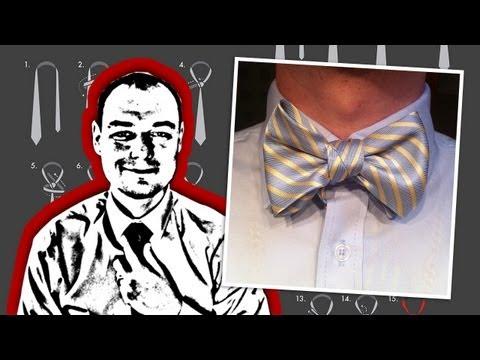 Tie Tips: How to Tie a Neck Tie into a Bow Tie