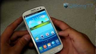 How To Root The Sprint / T-Mobile Samsung Galaxy S III
