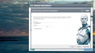 ESET NOD32 AntiVirus 2014 + Username & Password For Free