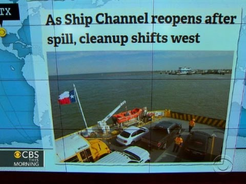 Headlines: Ship channel reopens after Texas oil spill