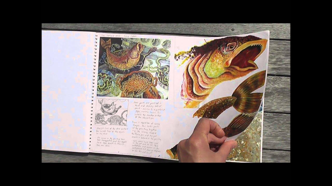 A* IGCSE Art Coursework: Trinkets, Treasures and Memories