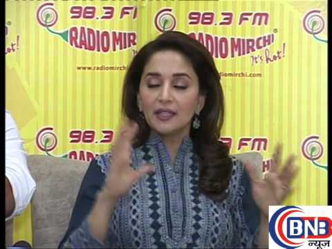 madhuri dixit at radio mirchi film parmotion gulab gang