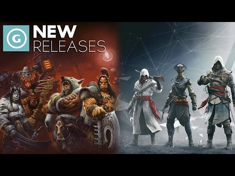 WoW: Warlords of Draenor, Assassins Creed Unity and Rogue and Halo - New Releases