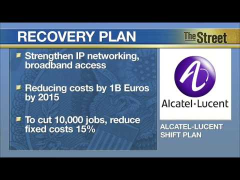 Alcatel-Lucent Cuts Losses 80% as Turnaround Plan Gains Traction