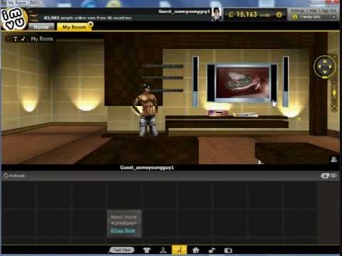How to change your IMVU Default Room Tutorial 9,