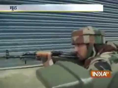Gunfight between militants and security forces on in Kashmir's Sopore town, one militant killed
