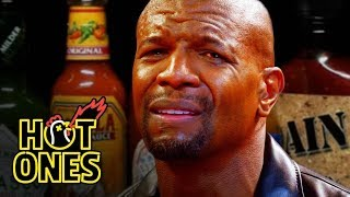 Terry Crews Hallucinates While Eating Spicy Wings | Hot Ones