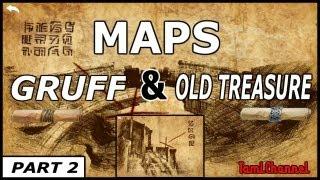 Infinity Blade 2: MAPS #2 GRUFF & OLD TREASURE MAP