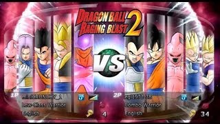 Dragon Ball Z Raging Blast 2 Crunchy Vs. EGL (Subscriber