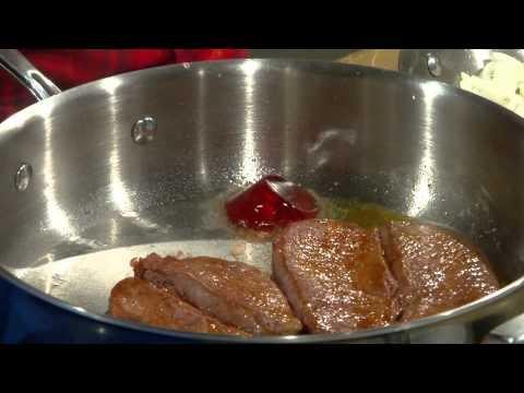 Recette de steak de chevreuil