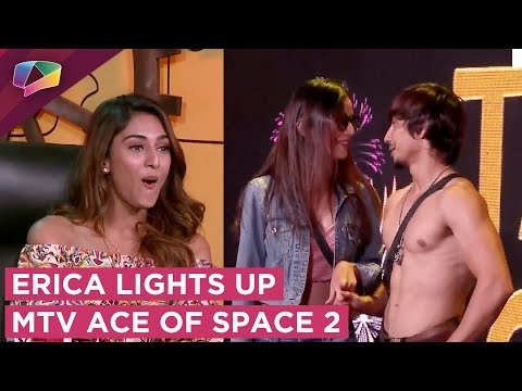 Erica Fernandes Brings Along A Fun Talent Show | MTV ACE Of Space 2