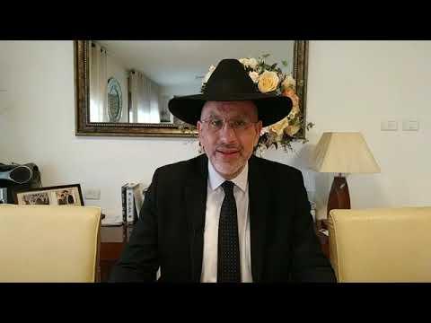Derrière tout homme se cache un avenir, pour Yaacov Mordekhai en l'honneur  du Rabbi de Loubavitch.