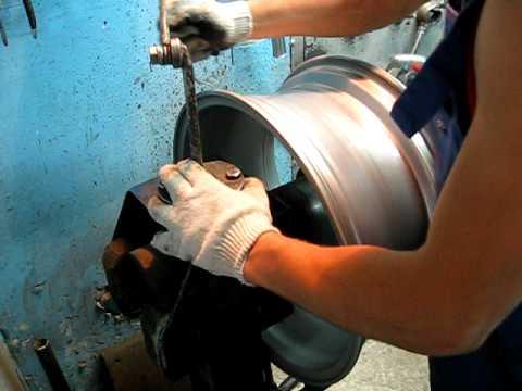 как ремонтируют диски