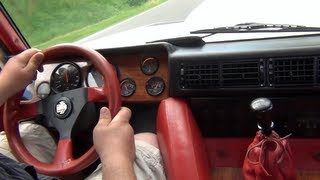 (HD) Lamborghini LM002 - Lovely Sound & Crazy Backfire !