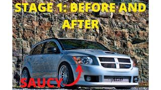 Dodge Caliber SRT-4 Exhaust videos