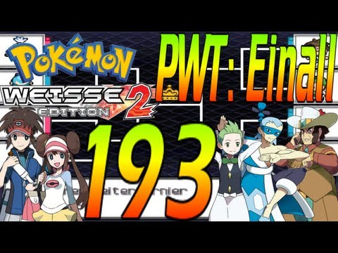 Let's Play Pokémon Weiß 2 - Part 193: PWT Einall-Arenaleiterturnier