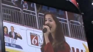 11 Year Old Gina Marie Incandela National Anthem