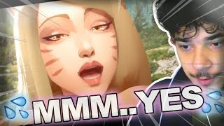LoL KPOP? Reacting to K/DA - POP/STARS - League of Legends