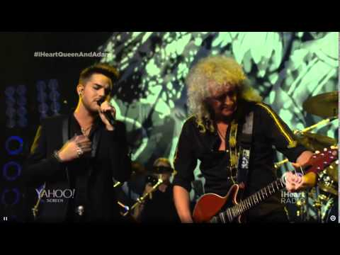 FULL SHOW QUEEN and Adam Lambert at iHeartRadio Theater LA 16 June 2014