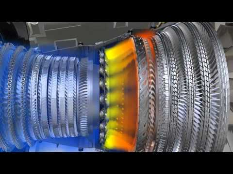 How does a CFM56-5B work '
