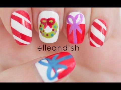 Easy Christmas Nails - Aranyos karácsonyi köröm