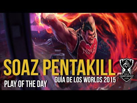 sOAZ DARIUS PENTAKILL | FW vs OG | LOL World Championship 2015 ...