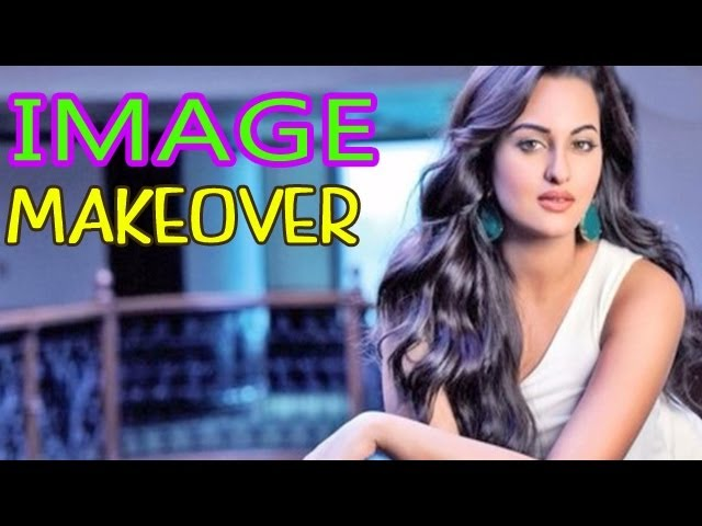 Is Sonakshi Sinha trying to change her image ?