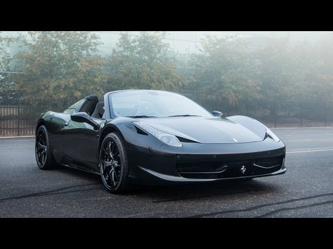 2014 Ferrari 458 Spider - WINDING ROAD Sights & Sounds