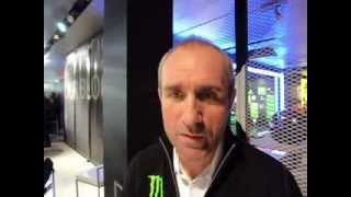 Stephane Peterhansel (Mini All 4 Racing X Raid) in Munich, about Dakar 2014