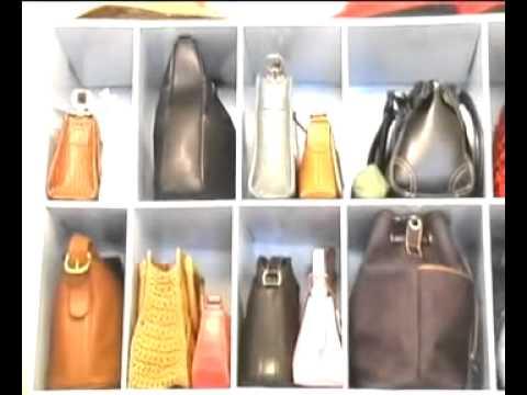 Hand Bag Closet Organizer