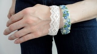 How to make a Bracelet from a Plastic Bottle - OWIMO Design Upcycling