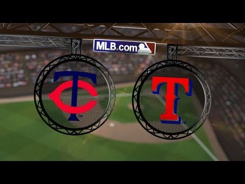 6/28/14: Darvish dominates as Rangers blank the Twins