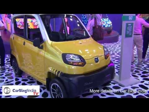 Bajaj RE60 Production Version- Interiors, Features And Engine From Auto Expo 2014