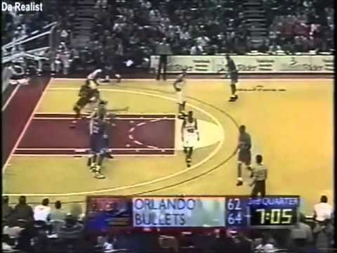 Shaquille O'Neal: Leading the Magic over Gheorghe Muresan and the Bullets (49 points, 1996)