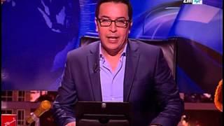 صلاح الدين الغماري يقدم الأخبار باللغة الروسية