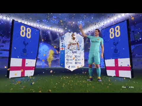 TOTGS HARRY KANE IN A PACK! | Gold 1 FUT Champions Rewards - FIFA 18