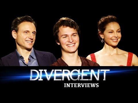 DIVERGENT Interviews: Ansel Elgort, Ashley Judd, & Tony Goldwyn